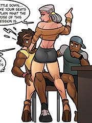 You heard da lady, sit y'all asses down - Riverdale high, Study hall 4 by Rabies T Lagomorph
