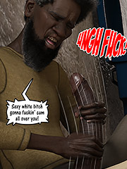 Sexy white bitch gonna fuckin' cum all over you - Christian knockers by Dark Lord