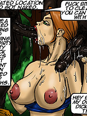 Cum inside my white body - Emptiness by Illustrated interracial