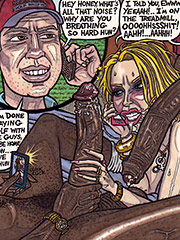 Fill that throat wit dat dark anaconda - Slut wife Kristi and Cucky by Theseus9 (RAD)