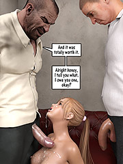 I can feel his cock pulsing with each blast of his hot cum - Christian knockers by Dark Lord