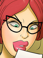 Let me take a look at that you little pervert - Hot for Ms.Cross no.2 by Moose