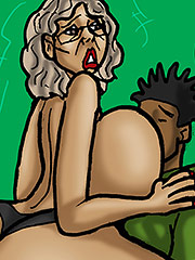 Ride that dick you mean old bitch - Twerking GILF (Mrs. Jiggles) by Duke's Hardcore Honeys