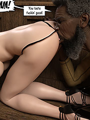 I'ma fuck dis sweet rich white pussy hard - Catherine and Isaiah by Dark Lord