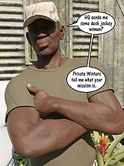 That's weird, all the men are black - Together in the army now by Dark Lord