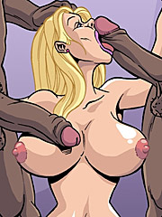 I want that bbc inside me right now - Wives wanna have fun too by Interracial comics