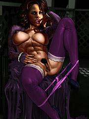 Scarlett cum whoring - Horny white sluts  by Kinky Jimmy 2016