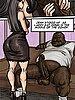 He sat back now as Jenn returned to her knees and got between his fat powerful legs - Produce Man by Illustrated interracial