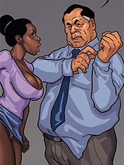 I wasn't able to cum inside my secretary - The Mayor 4
