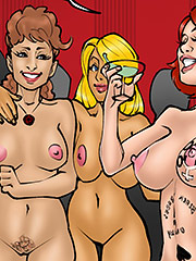 So much sperm in my womb - Annabelle's new life 3 by Kaos comics